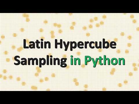 Latin Hypercube Sampling