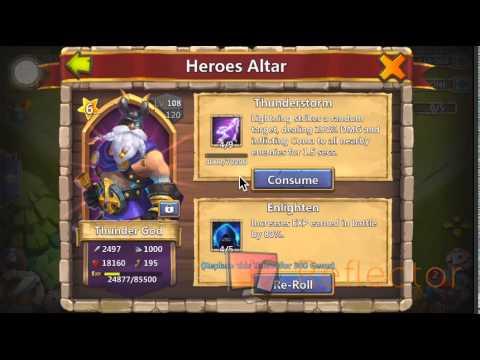 Castle Clash Hero Altar