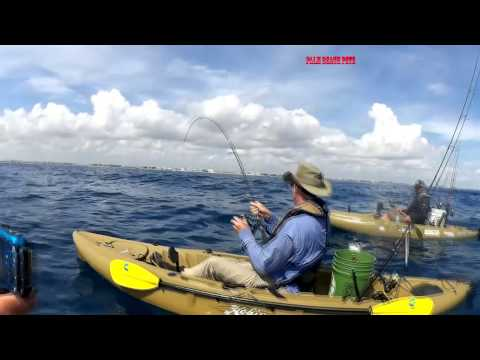 Fishing Offshore With Pushing Water Kayak Charters