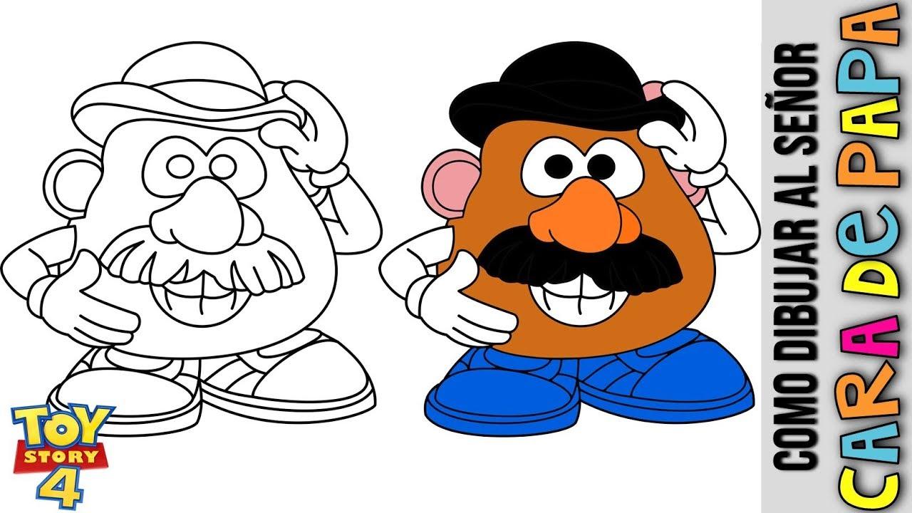 Senor Cara De Papa De Toy Story 4 Dibujos Animados Beyond The Traile Cara De Papa Papa Dibujo Cosas Lindas Para Dibujar