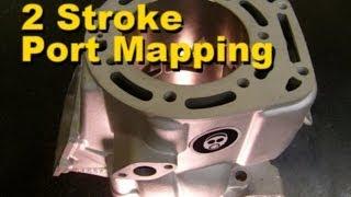 2 Stroke Port Mapping
