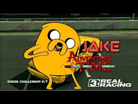 Modif dodge challenger r/t (jake adventure time)