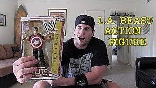 L.A. BEAST CUSTOM ACTION FIGURE!!! (MrFigureinsider)
