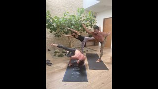 Aree's Army Quarantine Yoga Session #3 feat. Spencer Liff