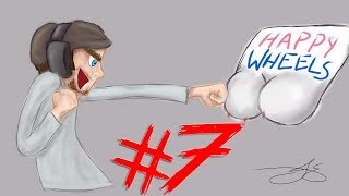 Happy Wheels - Part 7 | NEW CHARACTER - HELICOPTER HARRY