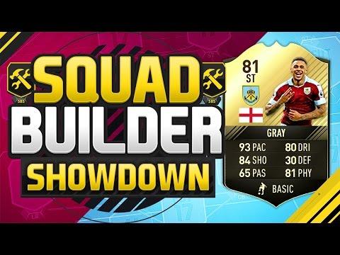 FIFA 17 SQUAD BUILDER SHOWDOWN!!! INFORM ANDRE GRAY!!! The Sweatiest Inform Striker Squad Duel