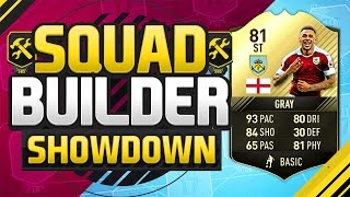 FIFA 17 SQUAD BUILDER SHOWDOWN!!! INFORM ANDRE GRAY!!! The Sweatiest Inform Striker Squad Duel