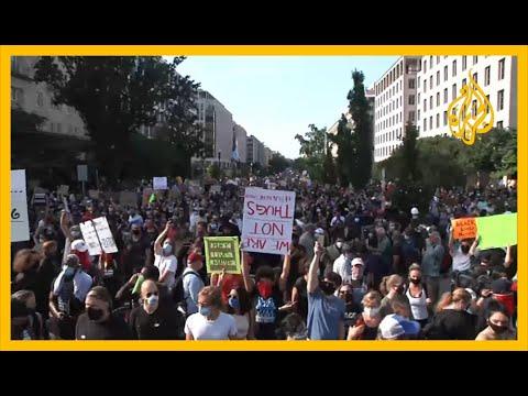 ???? رغم تهديد ترامب.. تواصل الاحتجاجات على مقتل فلويد  - نشر قبل 56 دقيقة