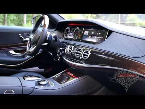 Mercedes Benz S222 белый 2016 год