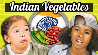KIDS EAT INDIAN VEGETABLES | Kids Vs. Food
