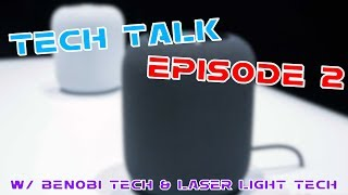 Tech Talk Episode 2 - HomePod First Impressions, Tesla on Mars, New Snapchat Update & More!