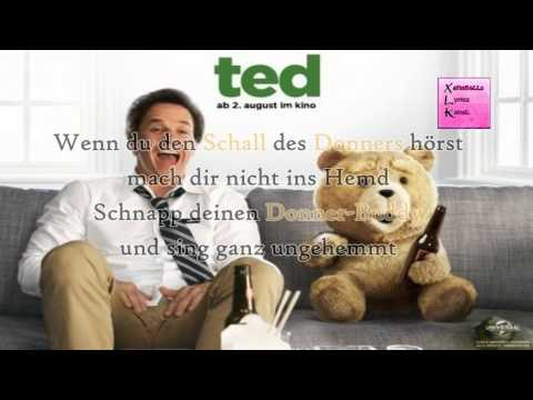 TED - Donner Song (German Lyrics)