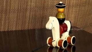 Maya Organic Wooden Action Toy - Hee Haw