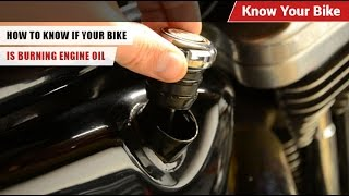 How To Know If Your Bike Is Burning Engine Oil | Know Your Bike | BikeDekho.com