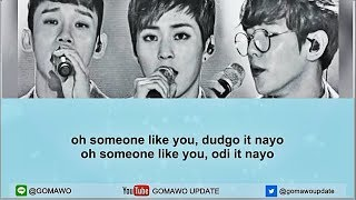 [Karaoke/Instrumental] EXO CBX - Someone Like You by GOMAWO [Indo Sub]