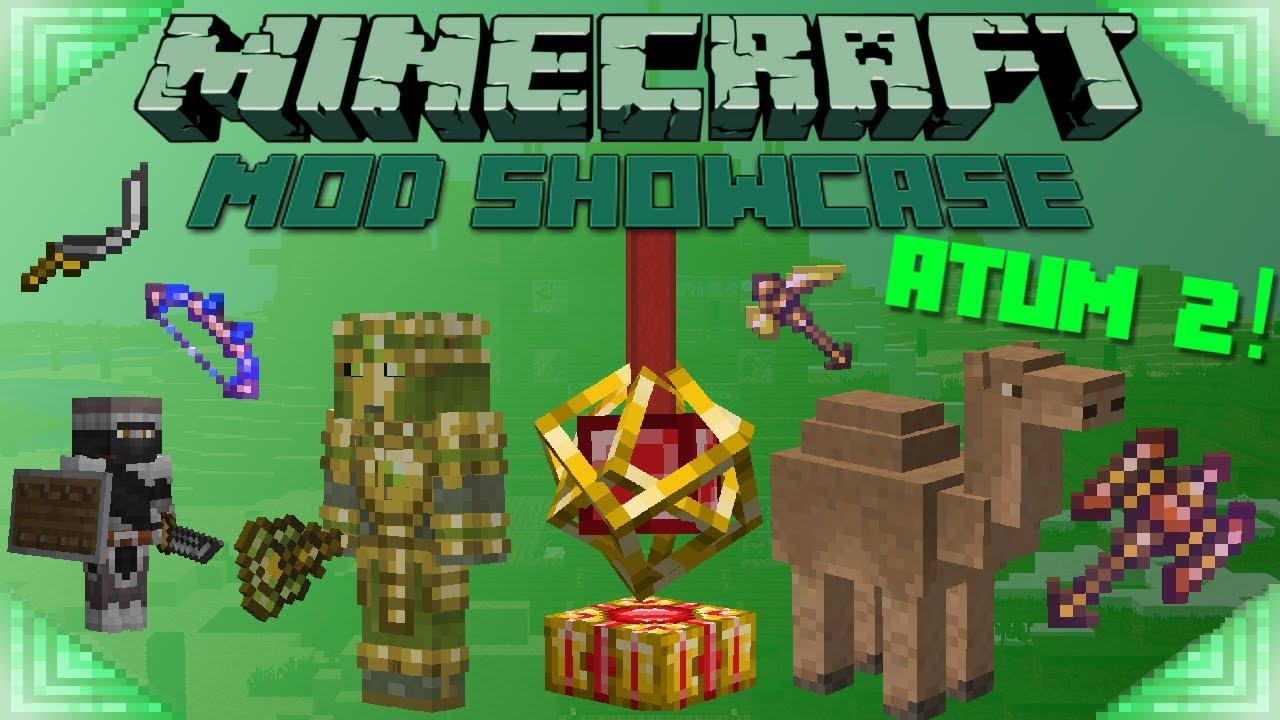 Download ATUM 2! - Minecraft Mod Showcase: DESERT DIMENSION!