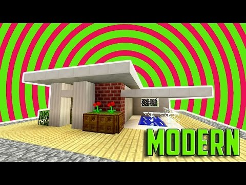 minecraft: how to build a small modern house tutorial (easy, cute