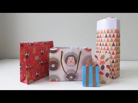 paper-bag-craft,-origami,-diy,-easy-packaging