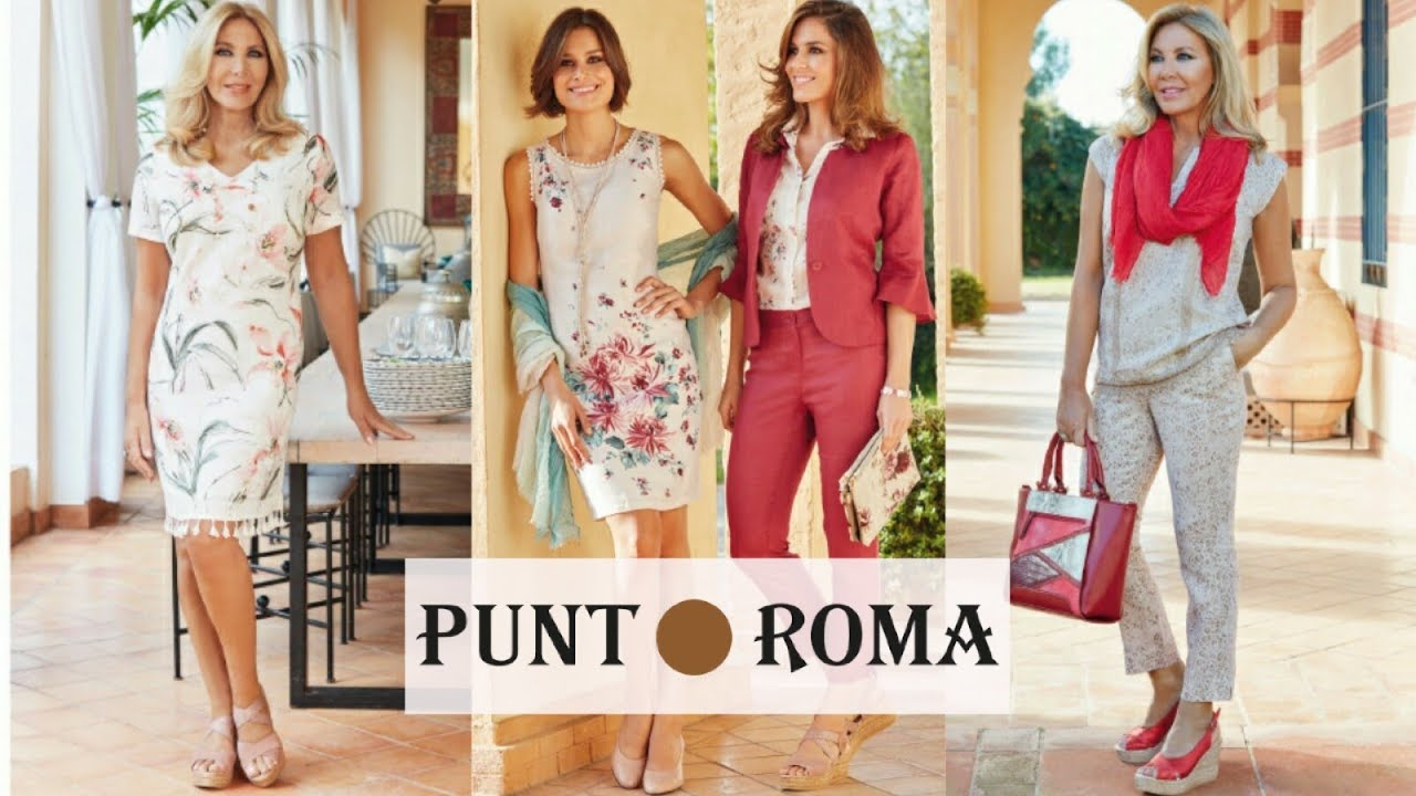 Vestidos punto roma primavera