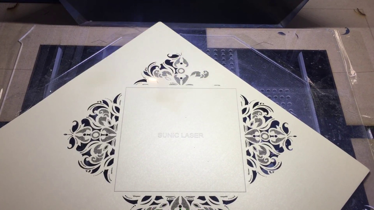 ARGUS LASER+Wedding Invitation Card Laser Cutting Machine
