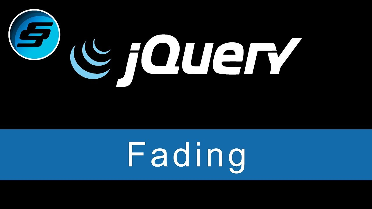 Fading Using FadeIn, FadeOut, FadeToggle and FadeTo - jQuery Ultimate  Programming Bible