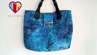Bolsa sacola em tecidos Giselle – Maria Adna Ateliê