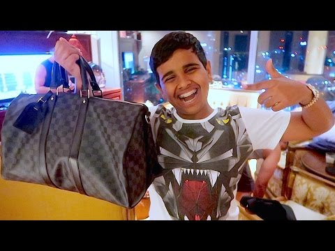 DUBAI'S RICHEST KID BUYS $10,000 DOLLAR BAG !!!