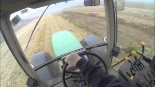 John Deere 6610 - Moving Ditch Mud