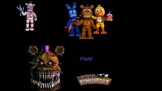 Roblox + Fnaf world +FNAF 4 + FNAF sl