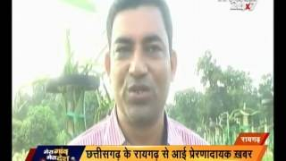 Raigarh :  A farmer took training of dragon fruit from Thailand