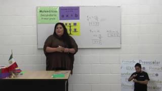 Secundaria clase: 92 Tema: Ecuaciones de primer grado de la forma ax=b