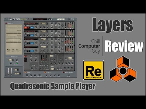 Layers Review in Propellerhead Reason 9.2