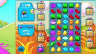 Candy Crush Soda Saga Level 156 No Booster 3* 8 moves left