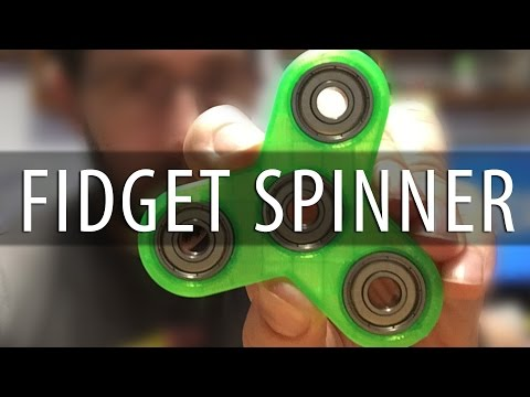 FIDGET SPINNER! Easily Make Your Own with 3D Printing!