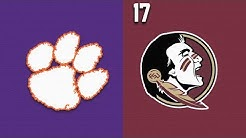2019 College Basketball Clemson vs #17 Florida State Highlights