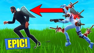 The KAMIKAZE CLINGER Grenade Strategy - Fortnite Battle Royale Funny Clips