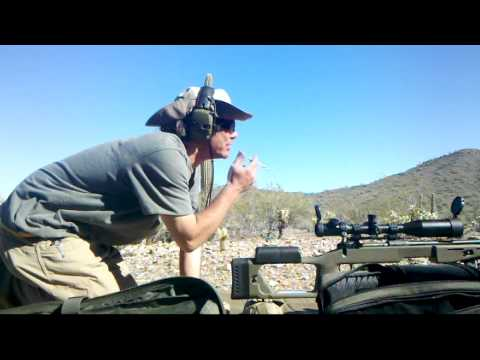 Savage 110 & Millet TRS-1 Sniper Practice 3-21-12
