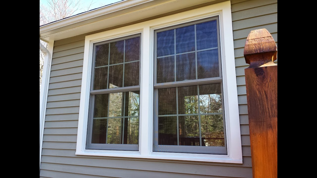 Anderson Replacement Windows >> Renewal By Andersen Duel Double Hung Window Installation Youtube