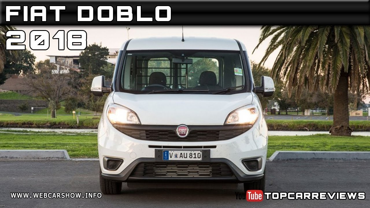 2018 Fiat Doblo Review Rendered Price Specs Release Date Youtube