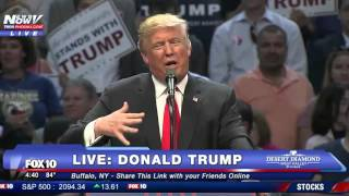 Donald Trump FULL Buffalo New York Rally - Rex Ryan Intro - FNN