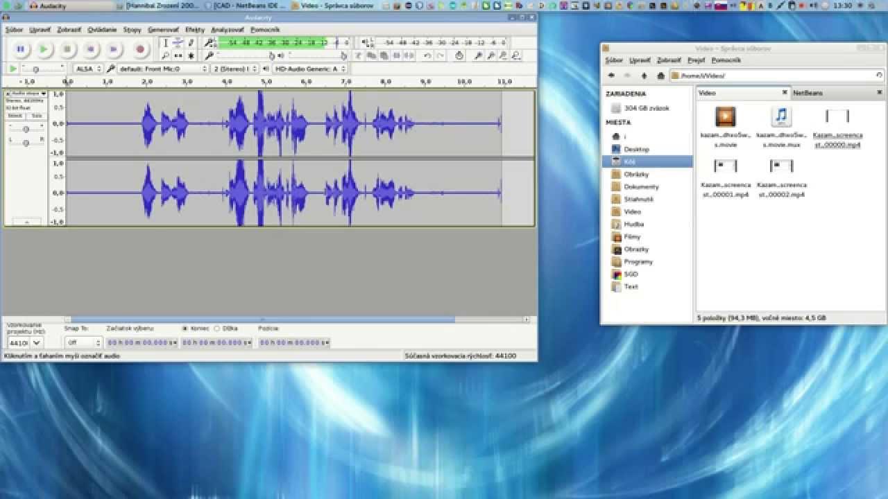Linux Arch Manjaro - setup Stereo Microphone - Alsa