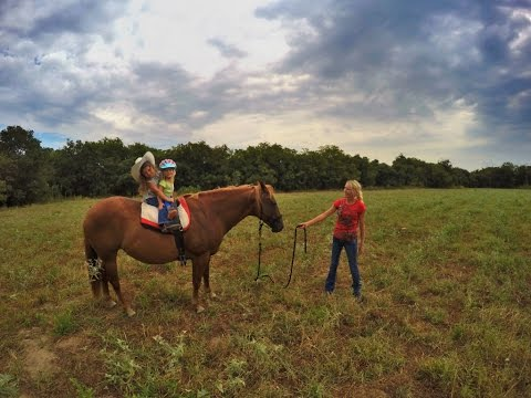 Life of Cowgirls (Kids, Horses and GoPro)