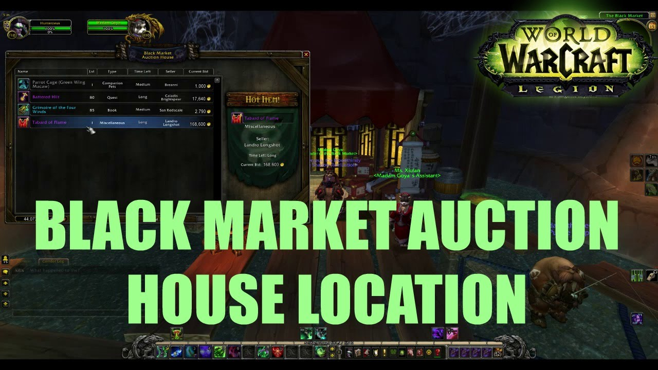 wow how to play the auction house