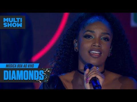 IZA  Diamonds  Música Boa Ao Vivo  Música Multishow