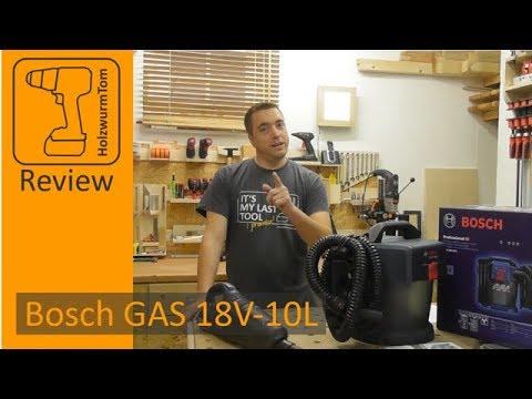Trendig Bosch Akku-Sauger GAS 18V-10L Unboxing und Review - YouTube HM41
