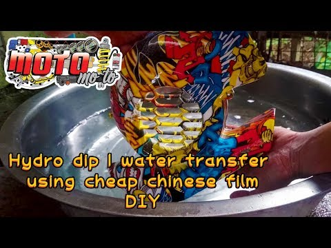 How to hydro dip for beginngers (DIY)