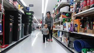Amir's Adventures - Amir Running at Walmart