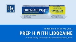 Review of Preparation H Rapid Relief With Lidocaine - Is This The Best Preparation H Cream?