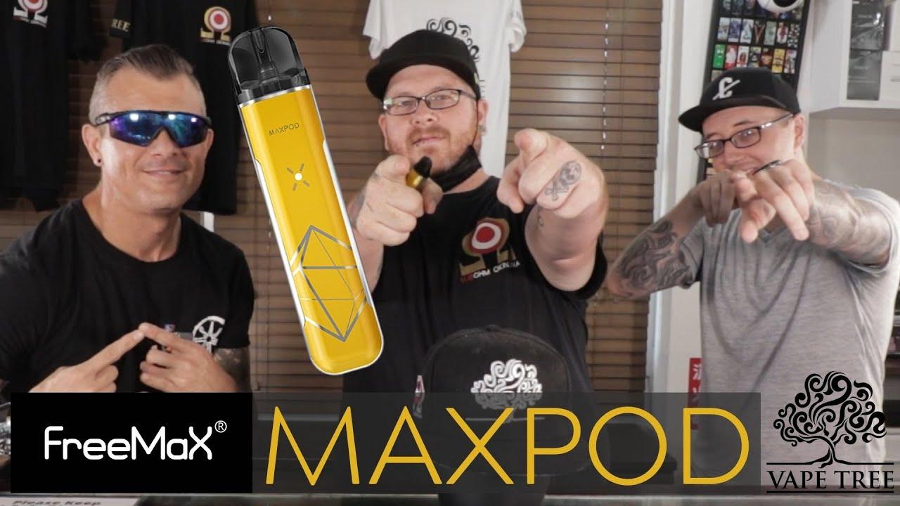 FREEMAX MAXPOD 11W POD SYSTEM - Vape Tree Review (字幕付き)
