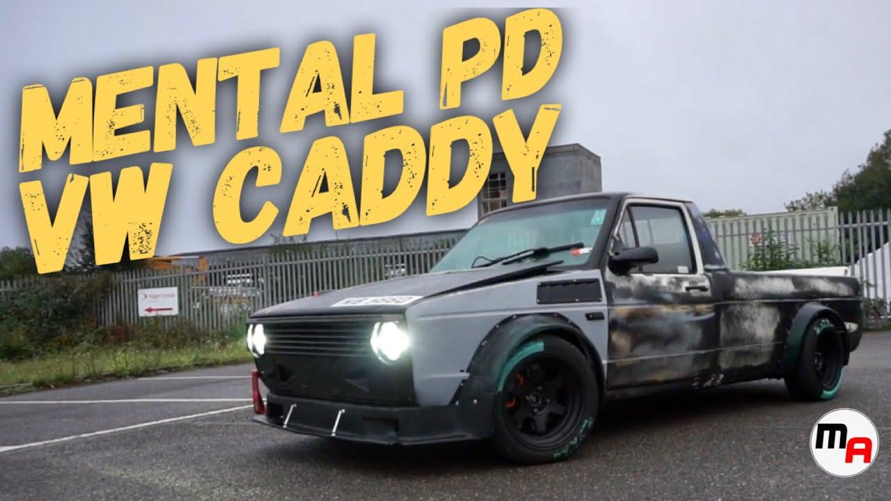 One Mental Mk1 VW Caddy